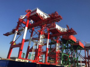 DHHI workshop in Dalian/ China where new mobile equipment for Port of Ploče will be manufactured