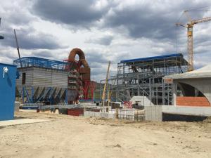 Izgradnja novog filterskog postrojenja te glavne proizvodne zgrade tvornice RS Silikon